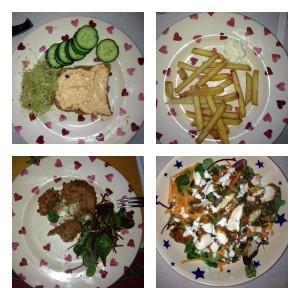 Janey's food diaries