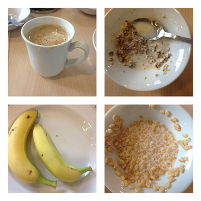 JAneys hotel breakfast