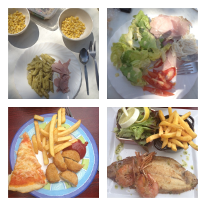 janey holliday holiday food diary