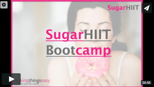 Sugar HIIT vimeo screenshot