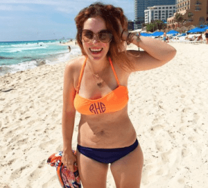 Bikini stretch marks