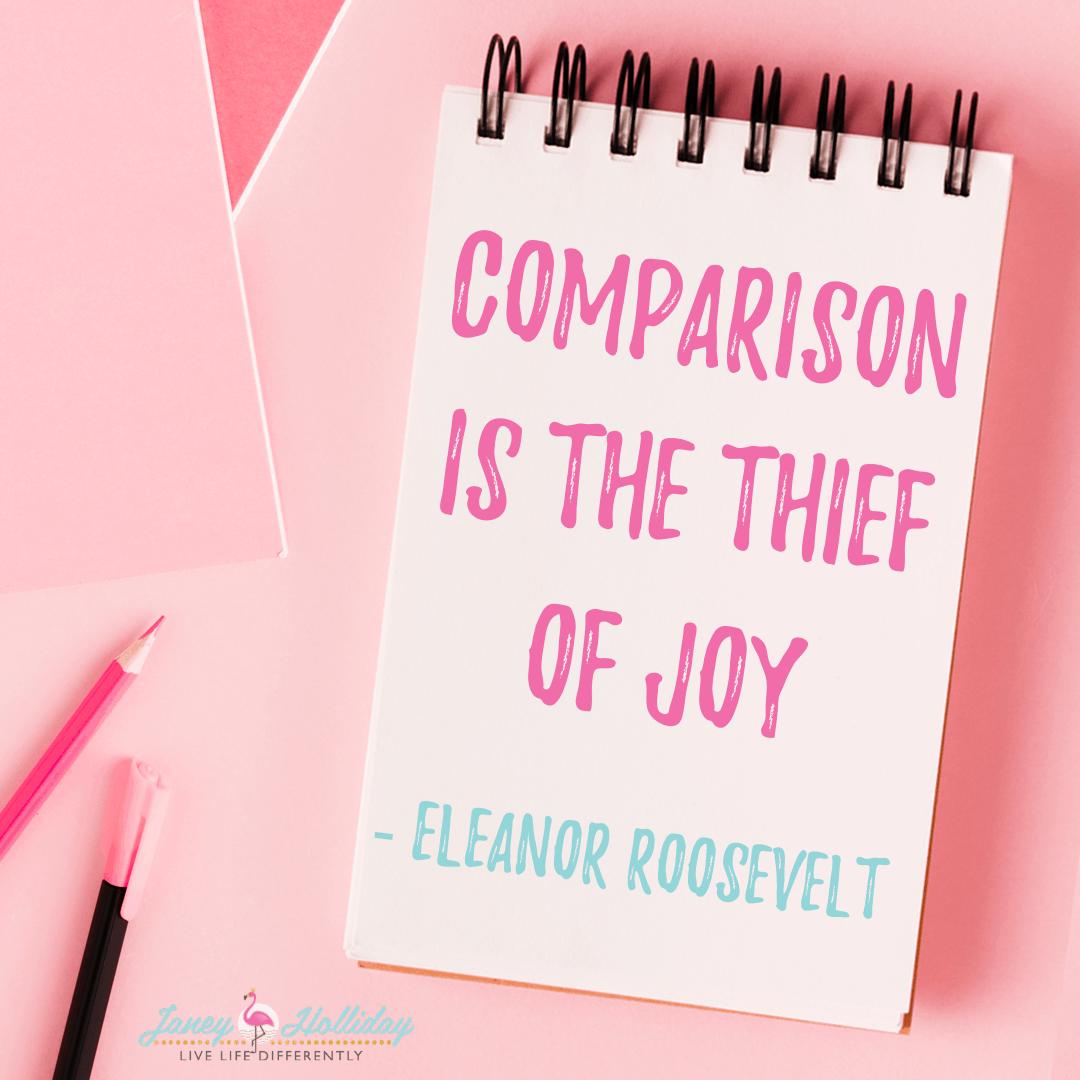 Comparison thief of joy