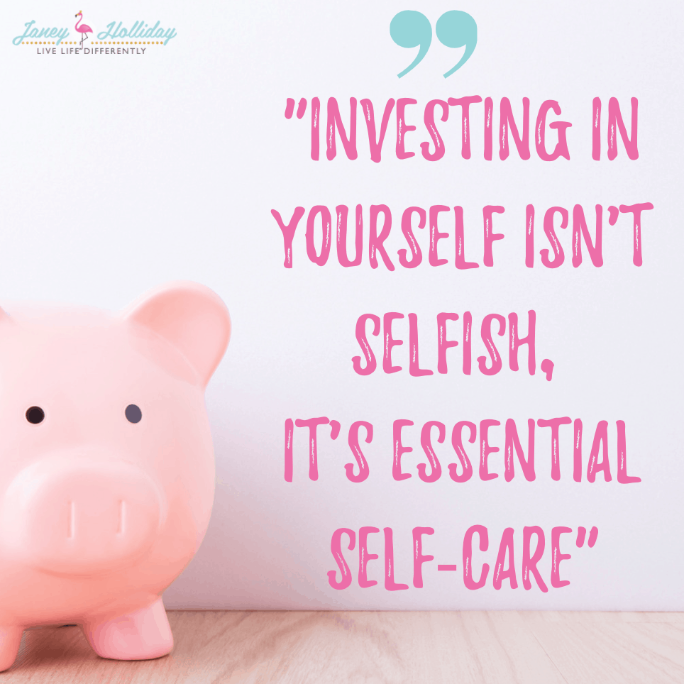 investing isn't selfish